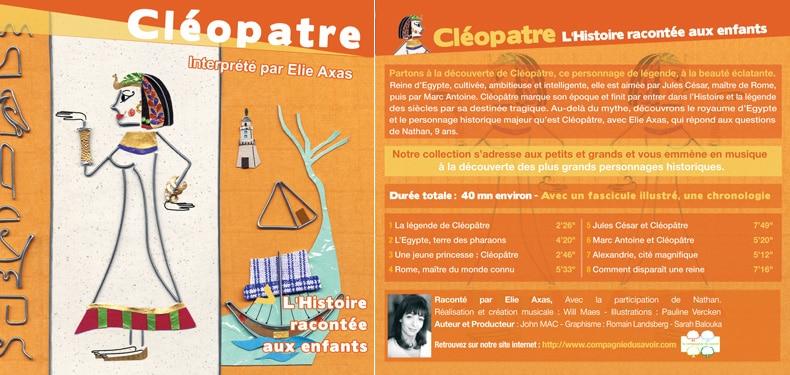 Cléopâtre, racontée par Elie AXAS